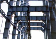 Steel structures of heat generating Katowice